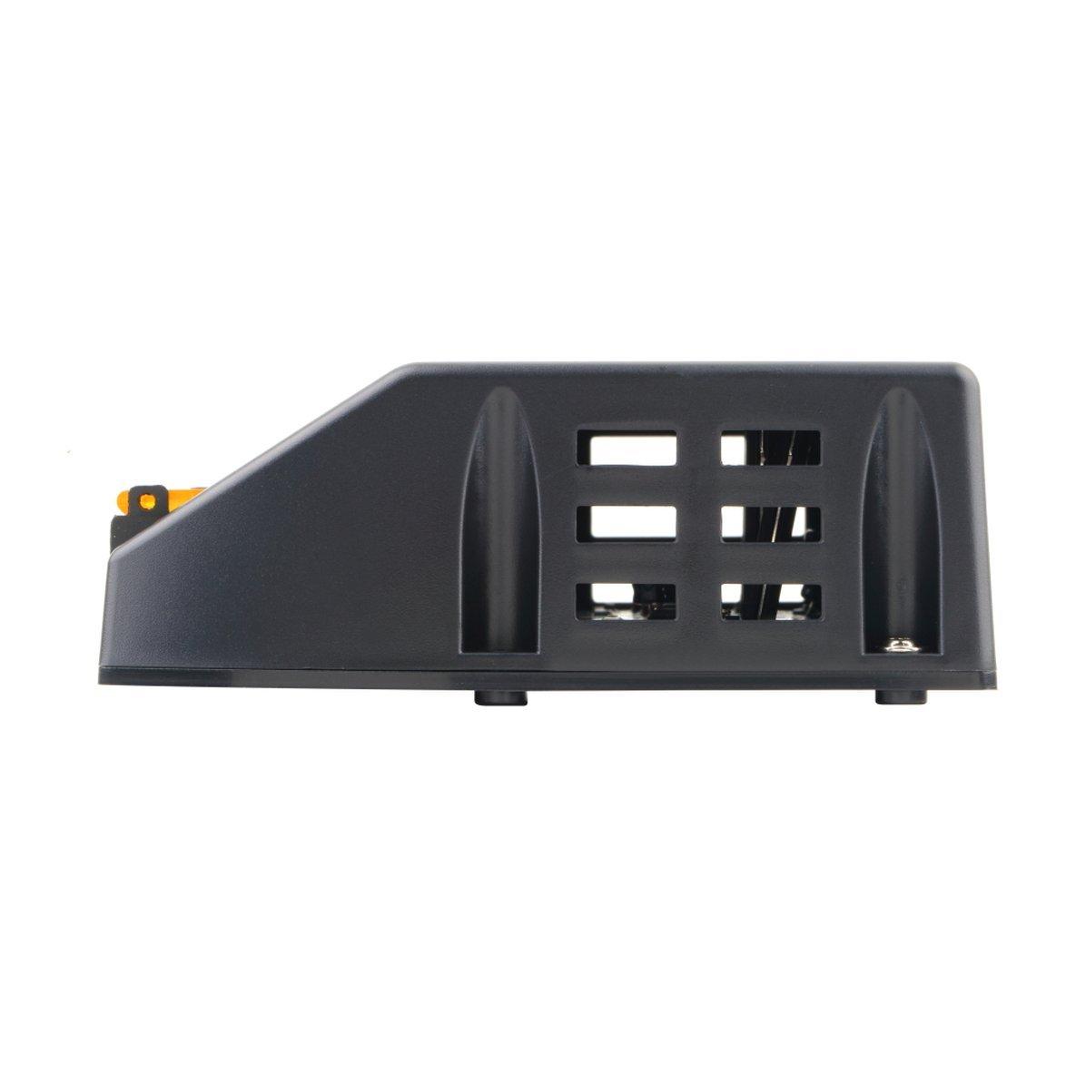 Noradtjcca 20A 12 V 24 V Solarpanel-Laderegler Batterieregler Sicherer Schutz des Solarreglers F/ür den Einsatz in Solarpanelsystemen