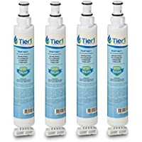 Tier1 Replacement for Whirlpool 4396701, EDR6D1, Kenmore 9915, 46-9915, NL120V, 4396701, 4396702 Refrigerator Water Filter 4 Pack