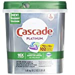 Fresh Scent Platinum Dishwasher Detergent, 92 Auction Pacs