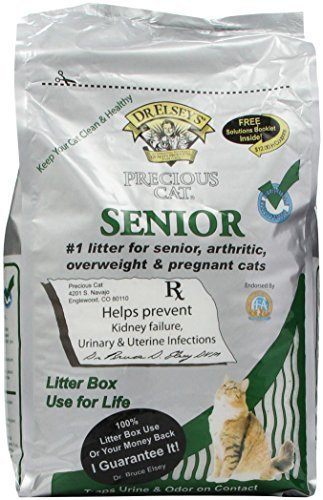 Precious Cat Senior Litter, 8lbs by Precious Cat