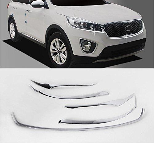Sell by Automotiveapple, C865 AUTOCLOVER Chrome Head Lamp Garnish Molding Trim 7-pc Set For 2016 Kia Sorento : ALL NEW SORENTO