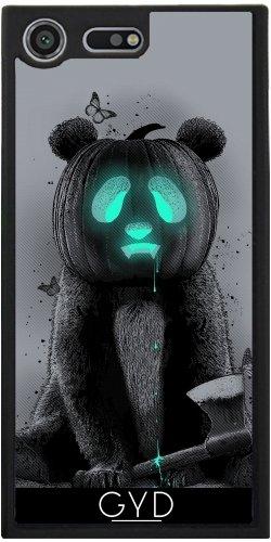 Funda Silicona para Sony Xperia XZ Premium - Pandaloween by Adam Lawless