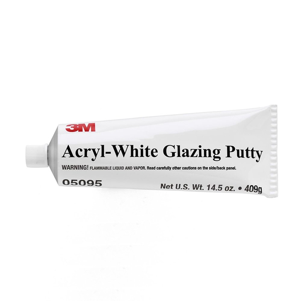 3M 05095 Acryl-White Putty Tube - 14.5 oz.
