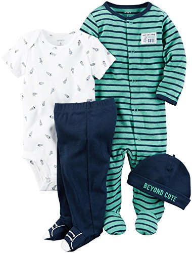 Carter's Baby Boys' Multi-pc Sets 126g584, Navy, 9 Months