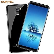 Telefono in Offerta, OUKITEL K5000 4G Smartphone (Rapporto 18: 9 Visione Completa) 5,7 Pollici Batteria 5000mAh Telecamera Sony 16MP + Telecamera Samsung 21MP MT6750T Octa Core 4GB RAM 64GB ROM Impronta Digitale GPS Dual SIM