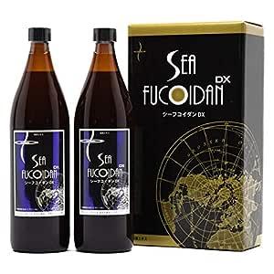 Sea Fucoidan DX 900 ml × 2 Bottles with measuring cup Sugar-Free Type