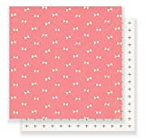 American Crafts 375822 Maggie Holmes Gather 25 Pack of 12 X 12 inch Patterned Paper Blush