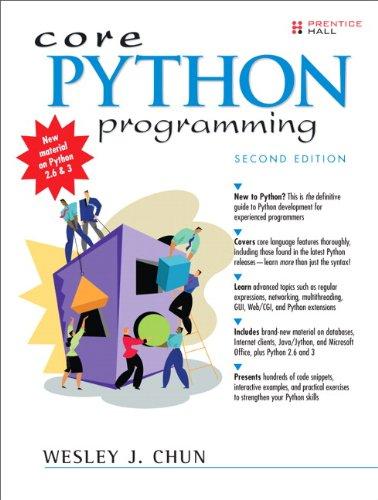 Core Python Programming (2nd Edition) comprar en tu tienda