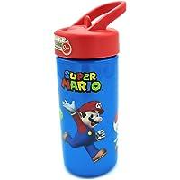 Super Mario waterfles, BPA-vrij, praktisch en praktisch, 410 ml