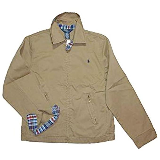 Ralph Lauren - Chaqueta - para niño marrón Medium: Amazon.es: Ropa y accesorios