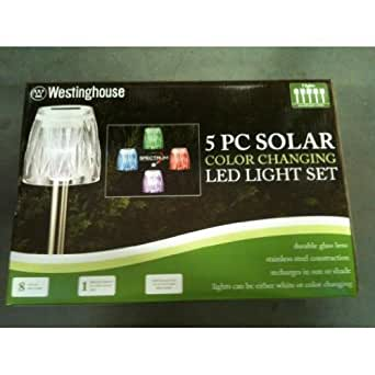Westinghouse 5 Piece Solar Color Changing LED Lights