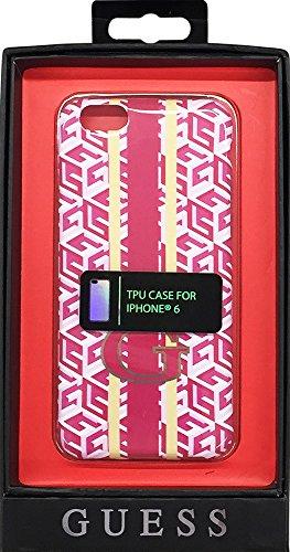 Guess G-CUBE Sammlung TPU Hülle für Apple iPhone 6/6S (12,4 cm (4,7 Zoll)) rot