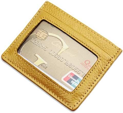 DukeTea Unisex RFID Blocking Thin Front Pocket Wallet Slim ID Credit Card Holder