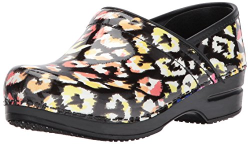 Sanita Women's Smart Step Simone Work Shoe, Multicolor, 39 EU/8/8.5 M US (Sanita Slip Clogs)