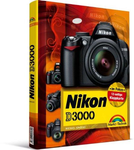 Nikon D3000 - mit 12-seitiger Klappkarte (Kamerahandbücher)