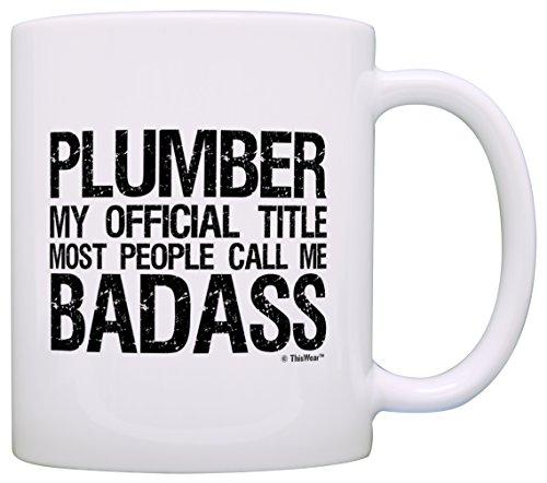 Plumber Official Badass Grandpa Coffee