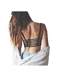 Flank Sexy Crop Tops Women Strap Vest Cut Out Shirt Summer Beach Tank