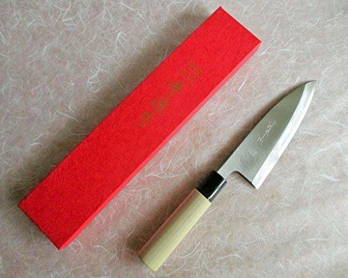 Sakai Takumi Ajimasa, Japanese Kitchen Knife DC150, Ajimasa Deba150mm/5.9'' by SAKAI TAKUMI AJIMASA (Image #6)