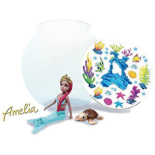 nixies 9745 - Pecera con sirena, 30 x 22 cm, modelos surtidos: Amazon.es: Juguetes y juegos