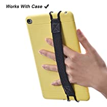 TFY Security Hand-Strap for Tablet PC - iPad ( iPad Mini 4 / iPad Mini & Mini 2 & Mini 3 / iPad Air / iPad Air 2 / iPad Pro 9.7) - Samsung Tablet Pcs - Nexus 7 / Nexus 10 and More