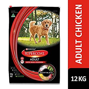 Supercoat Adult Dog Chicken, 12kg