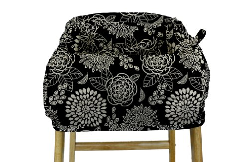 The Peanut Shell Shopping Cart Cover, Tea Time by The Peanut Shell