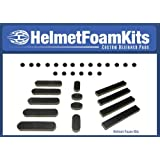 Bicycle Helmet Replacement Foam Pad Set Universal Fit Cycling Giro Bell Limar, BEST VALUE , Includes Extra Pieces!