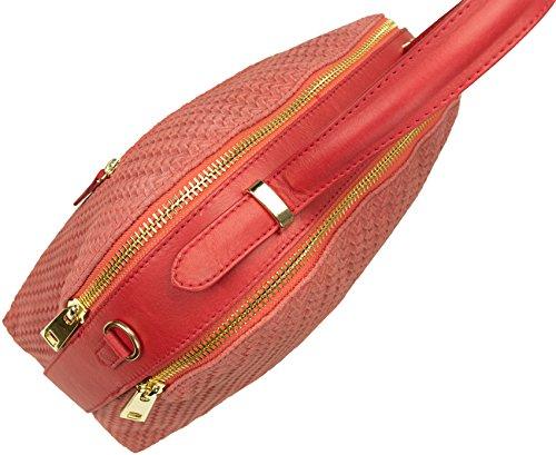 Shirin Sehan Tote da viaggio, Corallo (Rosso) - 5328