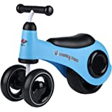 ZUKKA Baby Balance Bikes Mini Toddlers Walker Bicycle Ride on Trike No Foot Pedal for Children 12+ Months First Birthday Gift