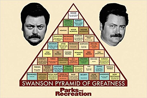 Parks and Recreation Tv Show Poster / Print 24 X 36 the Pyra