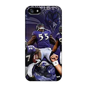 DxS1258ARcb 6Plus Baltimore Ravens Feeling Iphone 5/5s On Your Style Birthday Gift Cover Case