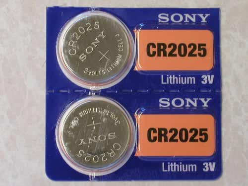 Sony Lithium 3V Batteries Size CR2025 (1 Battery)