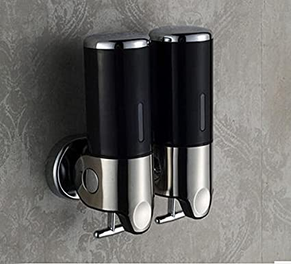 Color Rozinsanitary de pared negro dispensador de jabón líquido de baño champú Hotel Manual de emulsión