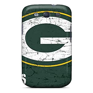 Great Cell-phone Hard Covers For Samsung Galaxy S3 (WiV1750RXod) Custom Colorful Green Bay Packers Series