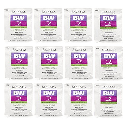 rength Powder Lightener 1 oz (12 Pack) 12 x HC-CRL320830 (Clairol Bw2 Powder)