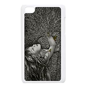 R-A-Y-N5026834 Phone Back Case Customized Art Print Design Hard Shell Protection Ipod Touch 4