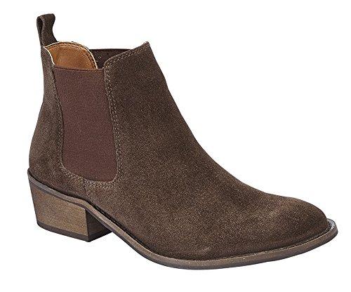 Brown Sabrina Dark Ladies Boot Women's Casual Cipriata Ankle Dessert Shoes gUdzxU4qw