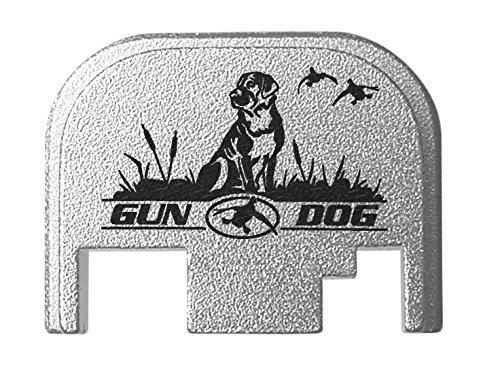 for Glock Back Plate Gen 1-4 17 19 21 22 23 27 30 34 36 41 Silver NDZ - Gun Dog Ducks