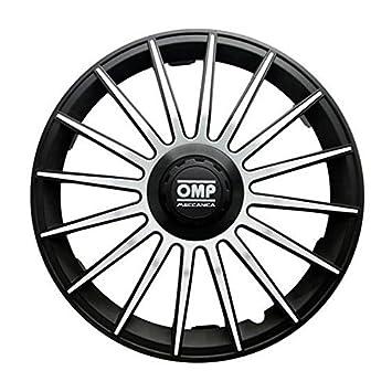 Amazon.com: OMP OMP1311 Formula Wheel Covers, Black/Grey, Set of 4, 13