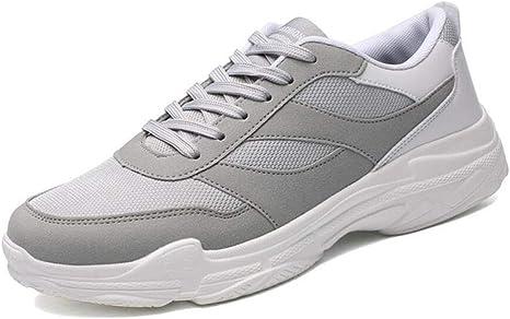 Xxoshoe Unisex Sneakers Outdoor Running Zapatos Deportivos Suede Leather Sports Shoes Zapatos de Hombre Talla 6-14: Amazon.es: Deportes y aire libre