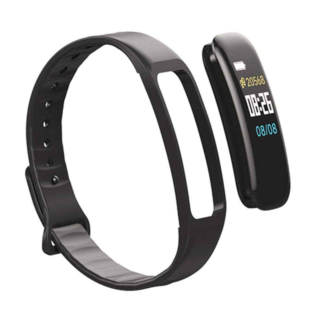 Zimrio Bracelet Bluetooth C1 Pression artérielle Fréquence Cardiaque Etanche Bluetooth Sport Montres connectées