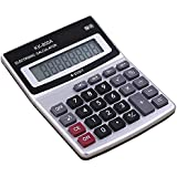 Strushine Mini Portable Calculator, Size 5.5x4.3x1.2 Inch LCD Display 8-Digits Desktop Calculator For Financial&Study&Work,Powered By a Small Battery(Included)