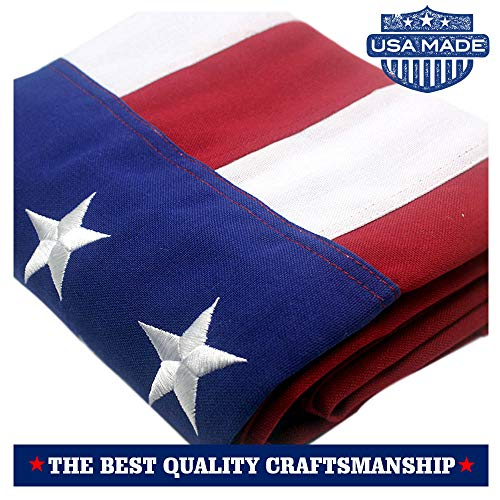 VSVO American Flag 3x5 ft - Made in USA - Long Lasting Durab