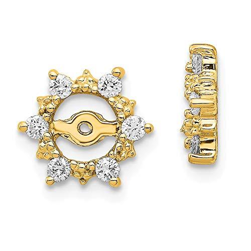 14k AA Fancy Diamond...