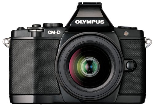 Olympus OM-D E-M5 16MP Live MOS Interchangeable Lens Camera with 3.0-Inch Tilting OLED Touchscreen and 14-42mm Lens (Black), Best Gadgets