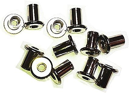 sourcingmap/® Douille hexagonale M6x 35mm /à t/ête plate Vis /à t/ête frais/ée Boulons 10