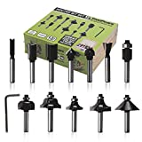 FivePears Router Bit Set-12 Piece Router Bits