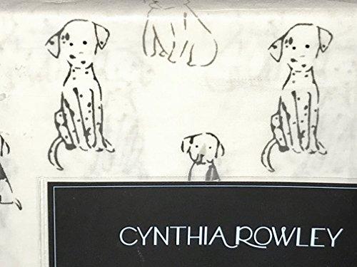DOGS PUPPIES Queen Size SHEET SET - cynthia rowley Cotton Dogs Sheet Sets (Dalmatian Pug puppies) (Set Pug Sheet)