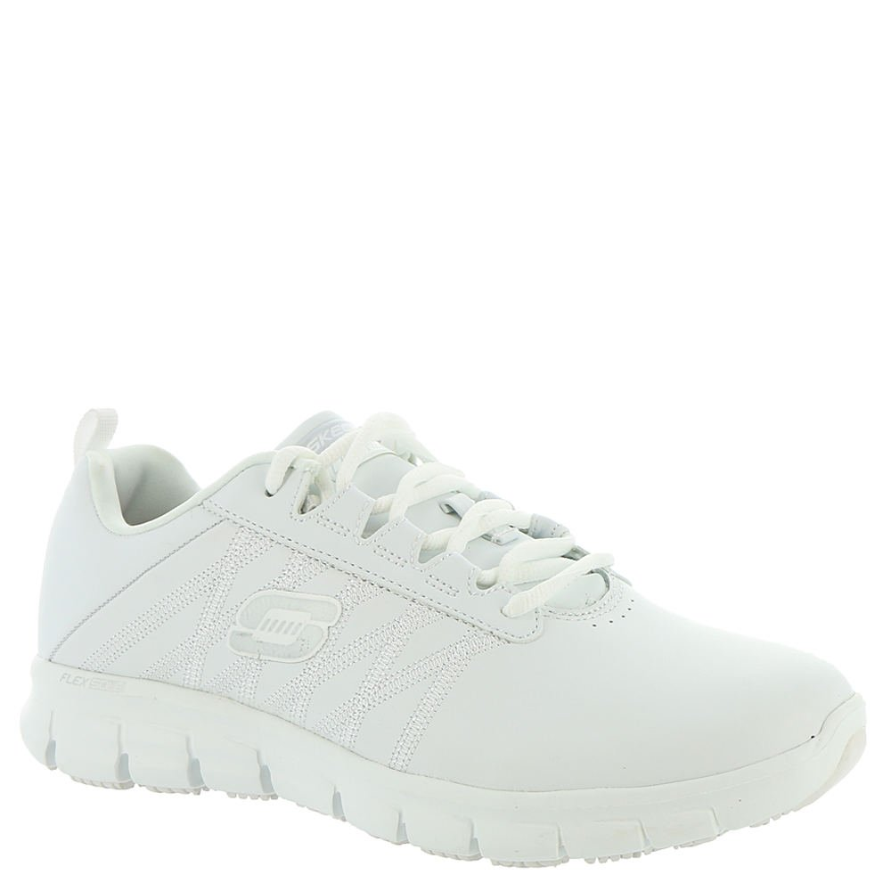 Skechers Work Relaxed Fit Sure Track Erath SR Womens Sneakers White 7