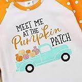 Baby Kids Girl Unicorn Halloween Pumpkin Car Print
